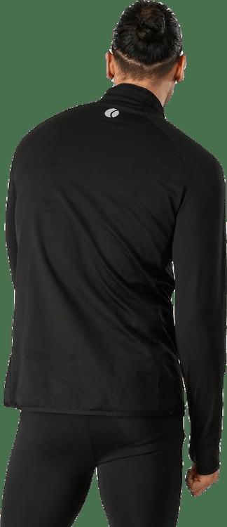 Alve Half Zip Polo Black