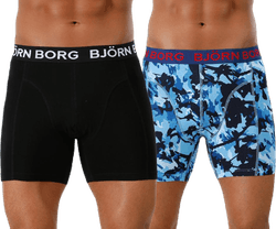 Branch Shorts 2-Pack Blue