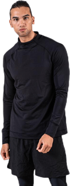 Anders Neck Mock Black