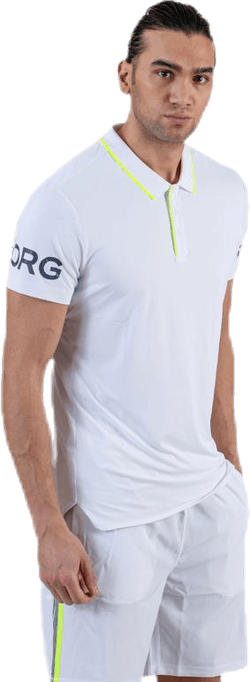 Tennis Polo White
