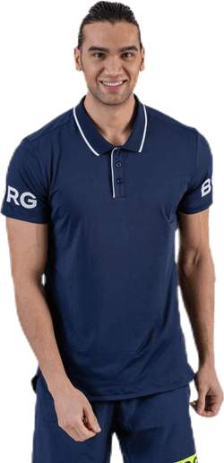 Tennis Polo Blue