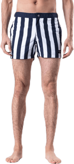 Saint Swim Shorts Blue/White