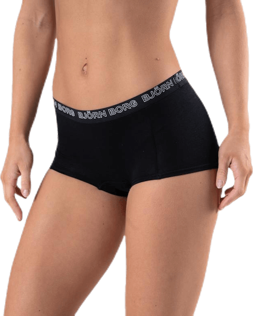Mia Meadow Minishorts 2-pack Blue/Black
