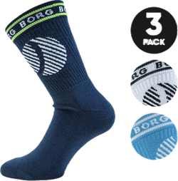 Ankle Crew Sock Blue