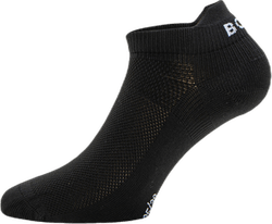 Solid Step Sock Black