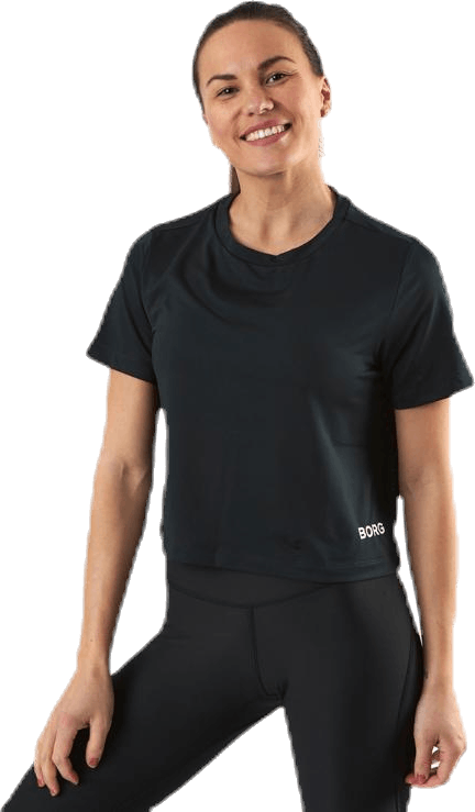 Cropped Tee Cate Black