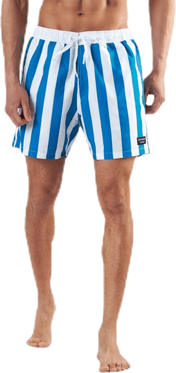 Sylvester Loose Shorts Blue/White