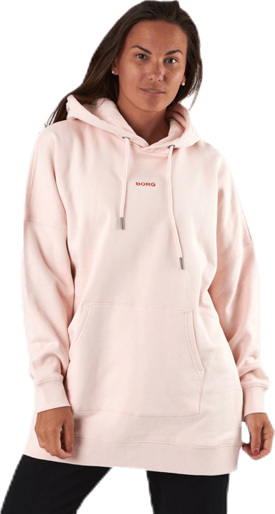 Oversized Majesty Hood Pink