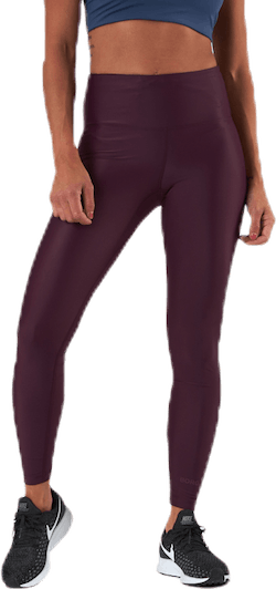 Clira High Waist Tights Red