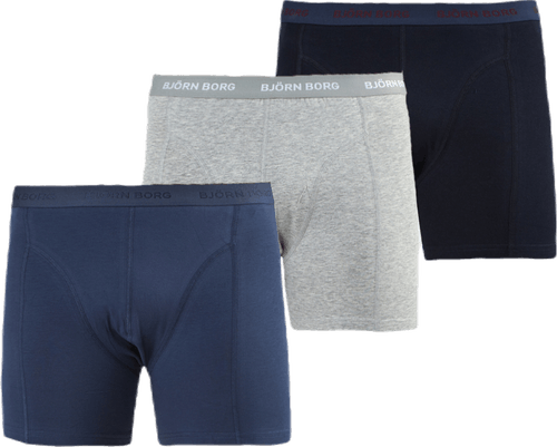 Sammy Solid Shorts 3-Pack Patterned