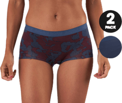 Mia Wayflower Minishorts 2-Pack Blue