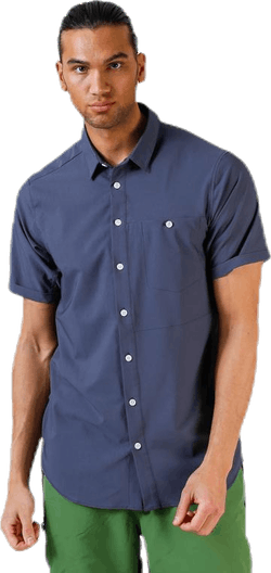 Shortsleeve Shirt Blue