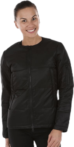 Luna R-Neck Jacket Black
