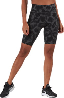 Awake Printed Biker Tights Black/Grey