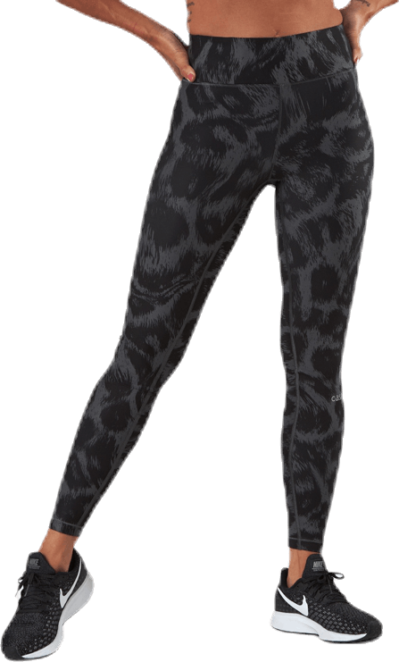 Awake Printed Tights Black/Grey
