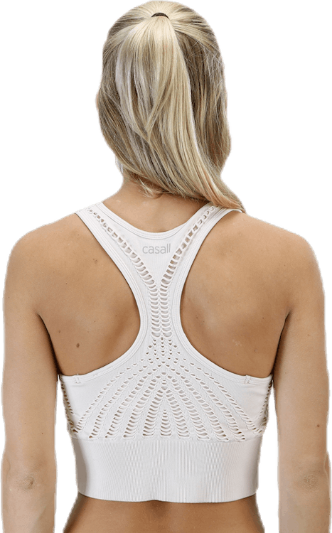 Open Structure Sports Top Pink