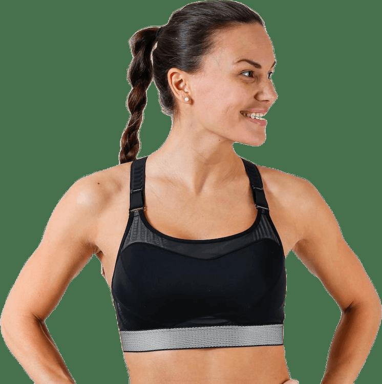 High Control Sports bra Black