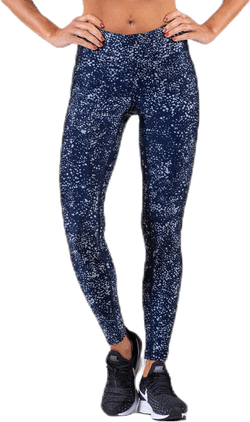 Sprinkle Metallic 7/8 Tights Blue