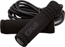 Jump Rope Foam Handle Black