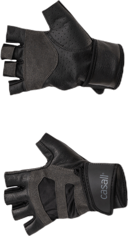 Exercise glove support Black