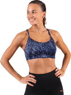 Strappy Sports Bra Blue