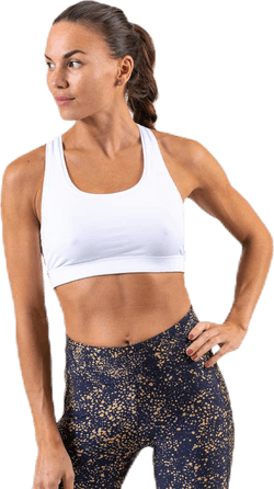 Iconic Sports Bra White