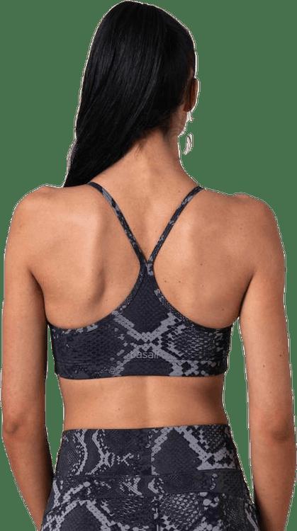 Strappy Sports Bra Grey