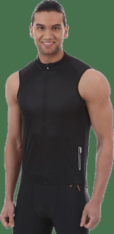 Essential Road Wind Vest Black
