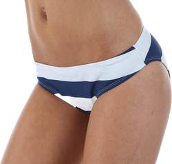 Violet Brief Blue/White