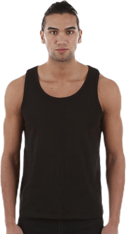 Tank Top 2-pack Black