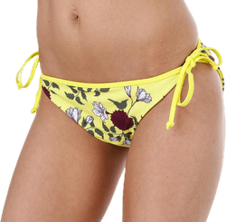 Evelyn Reversible Patterned/Yellow