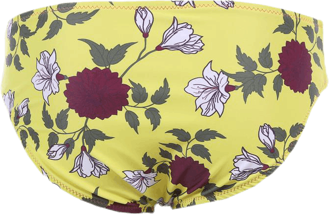 Jr Candra Brief Patterned/Yellow