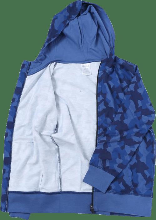 Jr James Camo Zip Patterned/Blue