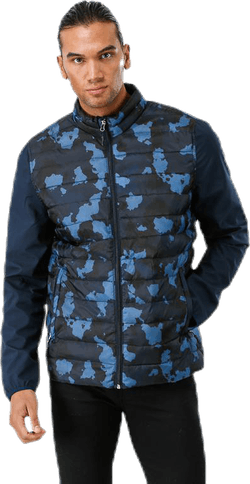 Olle Hybrid Jacket Blue/Black