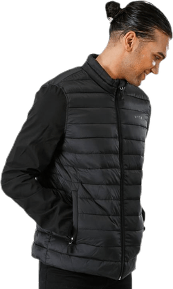 Olle Hybrid Jacket Black