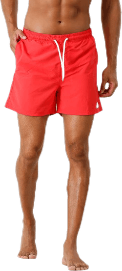 Louie Swim Trunks Red