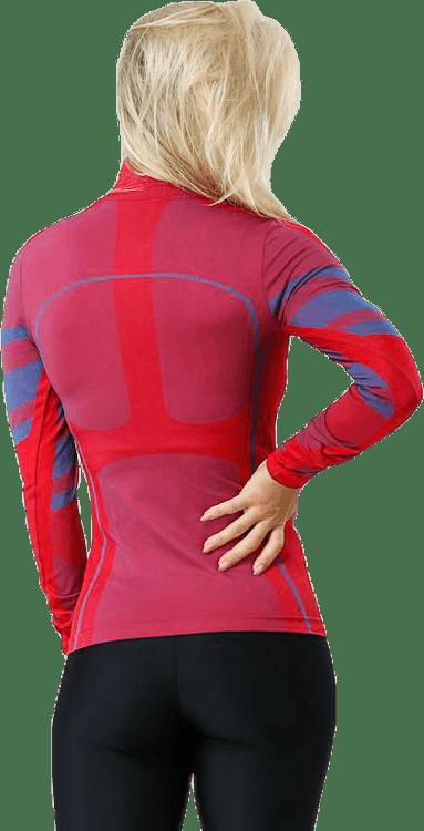 Inez Zip Red