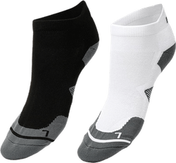 2-pack Running Sock White/Black