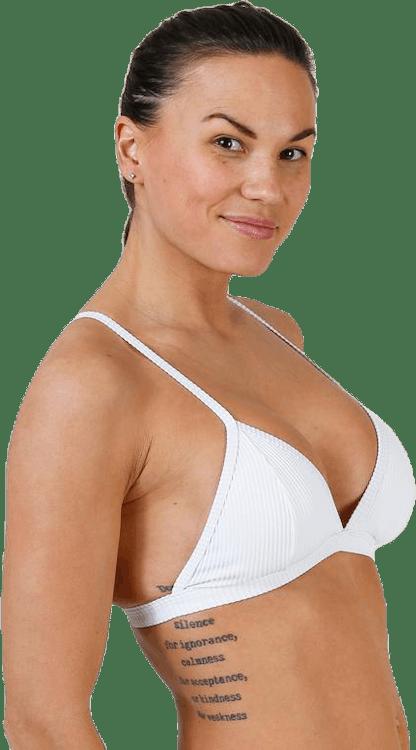 Lilja Ribb Triangle White