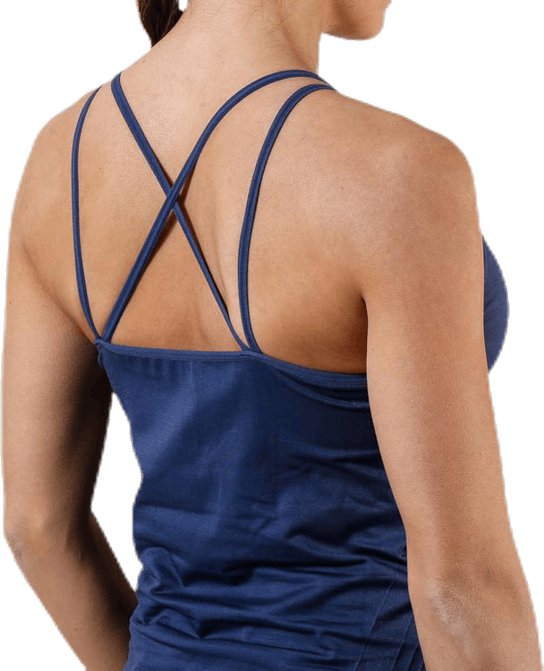 Abstrict Seamless Tank Top Blue