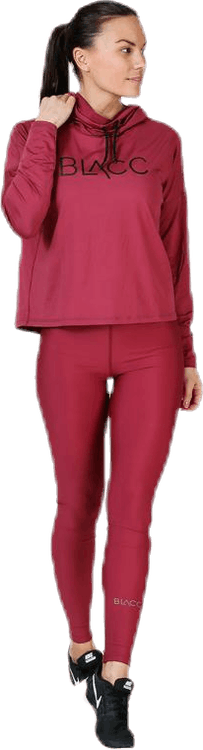 Faxi Crop Sweater Pink