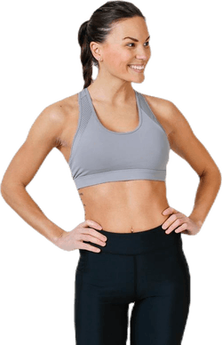 Freja Sports Bra Grey