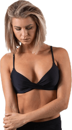 Hailey Push Up Black