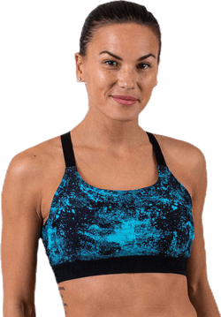 Moon Limited Sports Bra Blue
