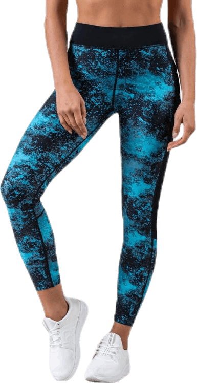 Moon Limited Compression Tights Blue