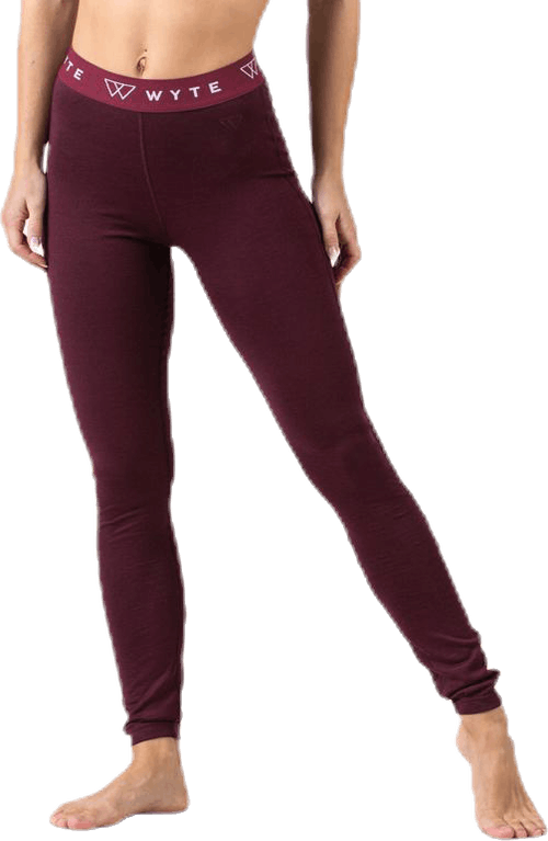 Flora Merino Pants Purple