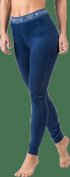 Flora Merino Pants Blue