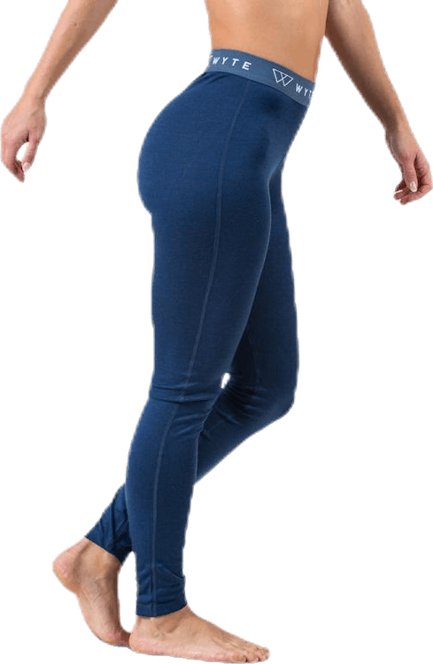 Flora Merino Pants Blue