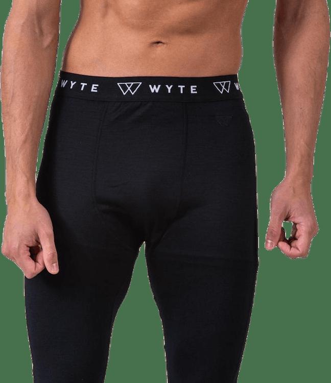 Arvid Merino Pants Black