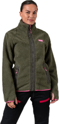 Journey Pile Jacket Green